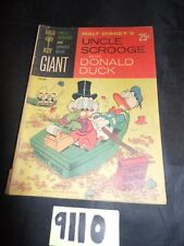 Uncle Scrooge and Donald Duck #1  Gold Key Comics 2nd Printing