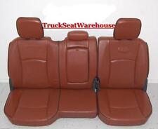 Dodge Ram Truck LONGHORN LARAMIE Rear Leather Seat