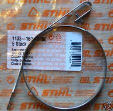 Genuine Stihl CATENA FRENO BAND ms270 ms270c ms280 ms280c 1133 160 5400 tracciate