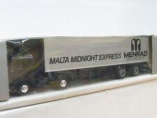 Herpa MB Koffersattelzug Malta Midnight Express Menrad Brillenqual. OVP (G2988)