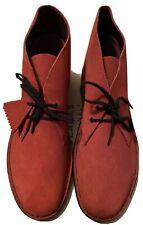 Clarks Originals, Desert Boot, Bordeaux Colour (Red/Black) Size 6.5 UK