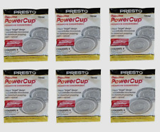 48 ct Presto Microwave POWERPOP Replacement Powercup Popcorn Concentrator 09964