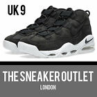 New Mens Nike Air Max Uptempo UK Size 9 Trainers // Black Suede Supreme