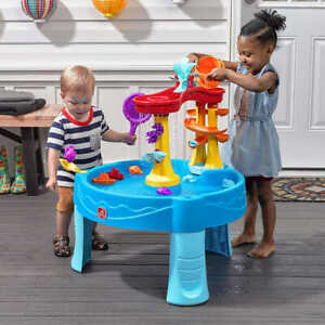 Step 2 Archway Falls Kids Playing Water Table with Accessories Outdoor New Fun
