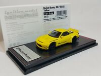 1:64 Ignition Mazda RX-7 FD3S Rocket Bunny Yellow IG1410 Tarmac Works Exclusive