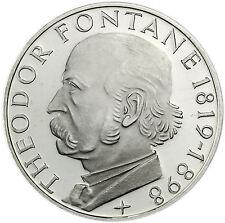 Stempelglanz 5 DM Münzen der BRD (1951-1974) aus Silber