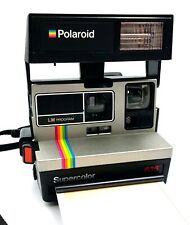 Polaroid 635 LM SuperColor Camera, Using 600 Film Instant camera - Working