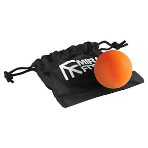Mirafit Lacrosse Massage Ball Myofascial Muscle Relief Trigger Point Release