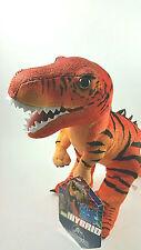 Jurassic World Red T-REX Hybrid Plush Crazy Rare Stuffed Soft Toy Dinosaur