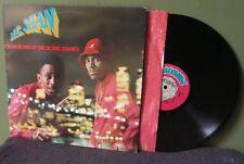 """MC Shan """"Born To Be Wild"""" LP VG+ Orig OOP Marley Marl Biz Markie M.C. KRS-One"""