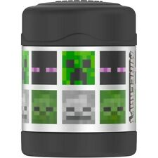 2 Thermos 10 Oz Vacuum Insulated Food Jar - Minecraft