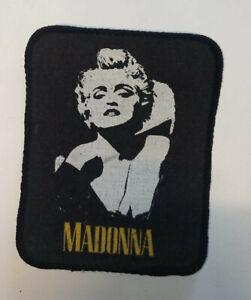 TOPPA PATCH MUSICALE MADONNA POP STAR - 80s vintage