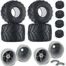 "Pro-Line Brawler Clod Buster 2.6"" 17.5mm Offset Wheel Set w/ Destroyer Tires (4)"