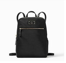 Kate Spade Hilo Blake Avenue  Backpack Nylon Wkru3525 Black NWT CUTE!!!