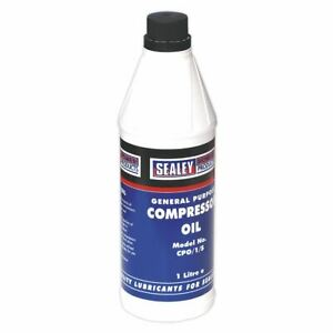 Sealey CPO1S Compressor Oil 1ltr