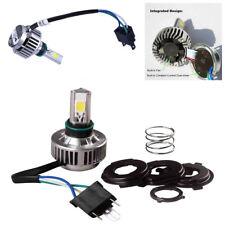 High Power 32W H4 Motorcycle COB LED Headlight White 360° Hi/Lo Beam Waterproof