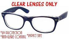 CLEAR RB2132 New Wayfarer Replacement Lenses UV Protect+ Anti Glare Ray Ban 58mm