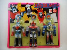 70's Popy Japan Vinyl Combattler Grendizer Gaiking Set Chogokin Shogun Warriors
