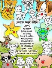 Encontre Amigos Animais Livro 2 Multipurpose Livro de Atividade para Crianças...
