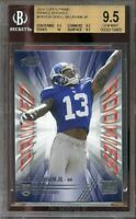 2014 topps prime rookies #proob ODELL BECKHAM giants rookie BGS 9.5 9.5 10 9.5