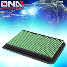FOR 07-17 CAMRY XV40 XV50 2.4L GREEN REPLACEMENT RACING DROP IN AIR FILTER PANEL