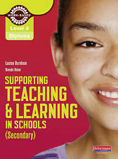 Level 3 Diploma Supporting Teaching and Learning in Schools, Seco...