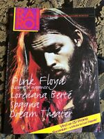 RARO! 58 Magazine about discography ps PINK FLOYD BERTe' Spagna Dream Theater