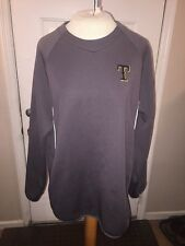 MLB Texas Rangers Size Large Baseball Team Gray Hoodie Jacket Sweater