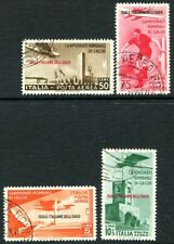DODECANESE ISLANDS-1934 World Football Championships Air Set of 4 Values