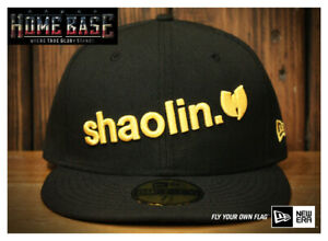 **Worn Once Condition 9.8/10** New Era 59FIFTY Fitted APPLEBUM X Wu-Tang Shaolin