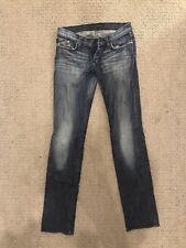 Rock And Republic Jeans 28 Stella Rhinestone Bootcut Stretchy Flare Fit 27 29