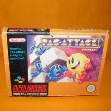VINTAGE 1993 SUPER NINTENDO ENTERTAINMENT SYSTEM SNES PAC-ATTACK GAME BOXED