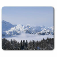 Computer Mouse Mat - Vogel Slovenia Ski Resort Skiing Snow Skier Office Gift #24