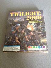 """TWILIGHT: 2000 PARAGON SOFTWARE  5.25""""  5 1/4"""" NTSC-U/C RPG PC  NEW NIB"""