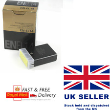 EN-EL14 MH-24 battery For Nikon D5100 D3100 P7100 D3200 D5200 EN-EL14A Camera UK