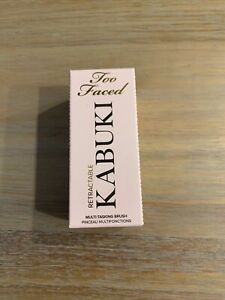 Too Faced Kabuki Brush Retractable Blush Foundation Makeup New 100% Authentic