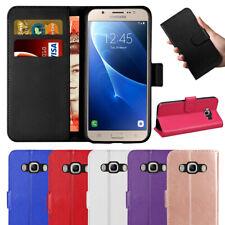 Case Cover For Samsung Galaxy J3 J5 2016 J6 2018 Flip Leather Wallet Card Holder
