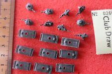 Unknown Manufacturer World War 2 II Tanks Metal Vehicles Diecast Flames of War ?