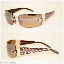 DG Eyewear Women Wrap Rimless Designer Sunglasses New Fashion Shade Gold
