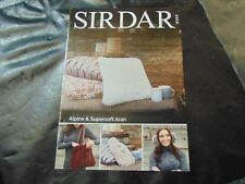 Sirdar Lady's DK Top/cardigan and Skirt Knitting Pattern Booklet 8205
