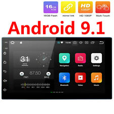 Android 9.1 2+16G Car Radio GPS Navigation 2Din 7'' Touch Screen Stereo Auto