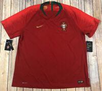 Nike Portugal Vaporknit Match Official Jersey 2018 World Cup 893879-687 Size XXL