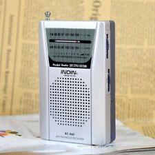Radio portatile Fm Am Stereo Altoparlante piccola antenna radio telescopica bu28