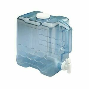 2 Gallon Water Jug Picnic Beverage Container Refillable with Spout Dispenser