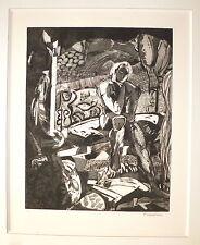 Fillières Dominique gravure signée numérotée Art Abstrait Abstraction cubisme