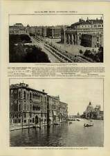 1890 Venice And Vienna John Latreille Brixton Metropolitan Machinists