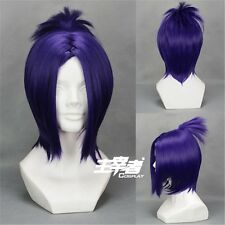 Hitman Reborn Chrome Dokuro Katekyo Anime Cosplay Costume Wig + Free CAP