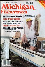 MAY/JUNE  1982 MICHIGAN FISHERMAN MAG- LARGEMOUTH BASS