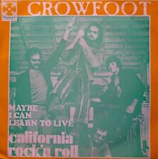 ++CROWFOOT california rock'n roll/maybe i can learn to live SP 1970 EX++