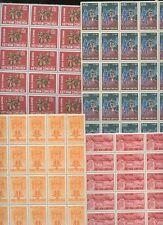 Le Viêt Nam 1963-6 5 vals.mint um blocs de 250 timbres cv £ 170